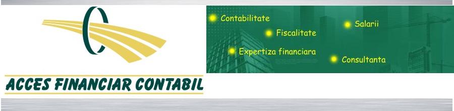 Acces Financiar - Contabil servicii profesionale de contabilitate Bucuresti Logo