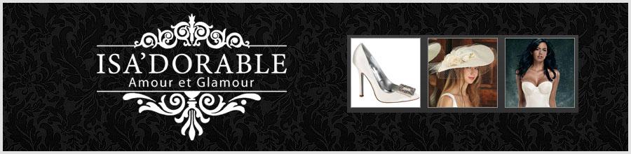 ISA'DORABLE Amour & Glamour Logo