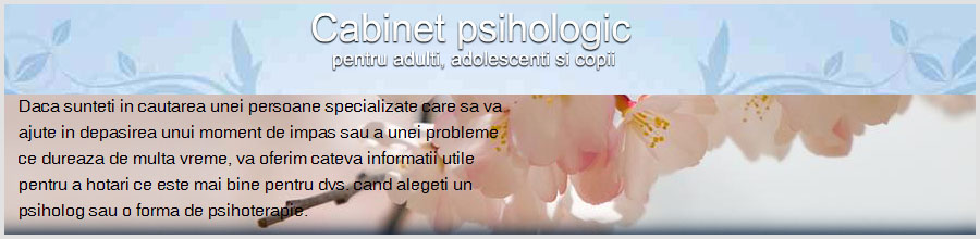Cabinet psihoterapie Sorinel Mocanu Logo