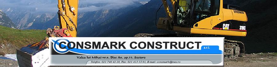 Consmark Construct, Bucuresti - Constructii industriale si civile Logo
