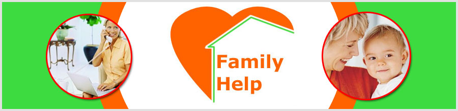FAMILY HELP Logo