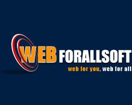 WEBFORALL SOFT Logo