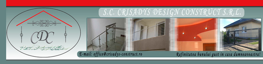 Crisadys Design Construct Logo