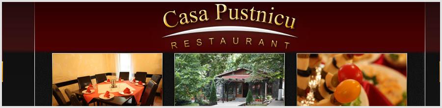 Restaurant Casa Pustnicu Logo