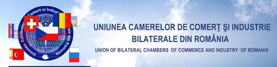 UNIUNEA CAMERELOR DE COMERT SI INDUSTRIE BILATERALE DIN ROMANIA Logo