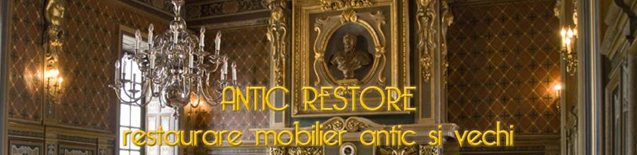 Antic Restore, Bucuresti - Restaurare mobiler de arta Logo