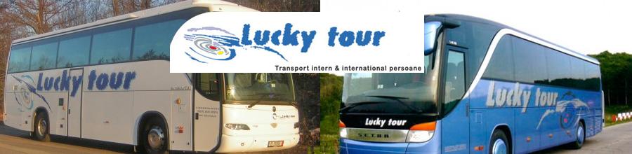 Lucky Trans Tour Logo