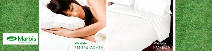 MARBIS lenjerie de pat, pilote online Alba Logo