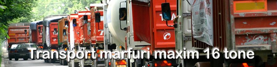 Transport marfuri maxim 16 tone Logo
