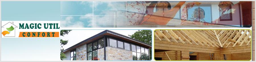 Magic Util Confort, Prahova - Constructii case de lemn Logo