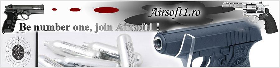 Airsoft Guns, Pistoale, Arme Logo