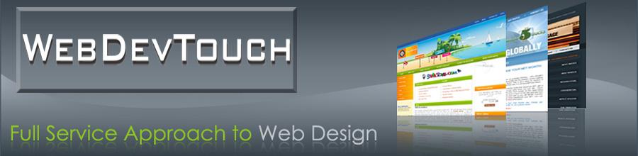WebDevTouch Logo