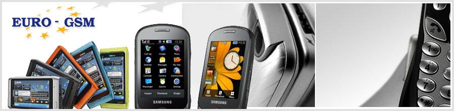 EuroGsm telefonie mobila Logo