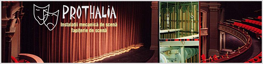 Prothalia, Bucuresti - Instalatii mecanica si tapiterie de scena Logo