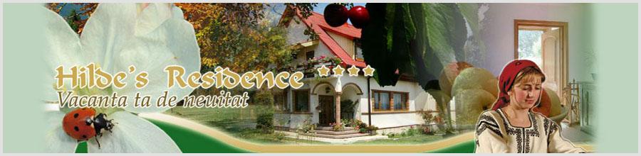 PENSIUNEA HILDE'S RESIDENCE**** - jud. SUCEAVA Logo