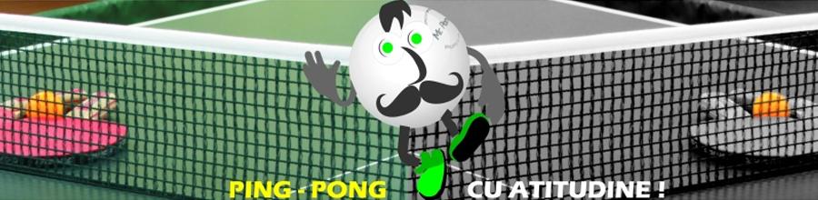 Sala de tenis de masa Mr.Pong Logo