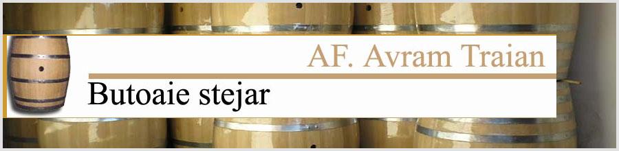 BUTOAIE STEJAR A.F.Avram Traian Logo