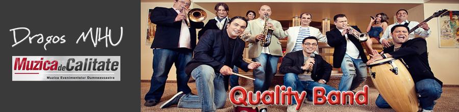 Quality Band - orchestra evenimente artistice Logo
