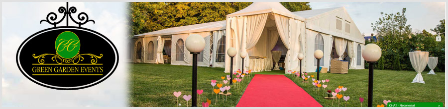 GREEN GARDEN EVENTS locatie evenimente Bucuresti Logo