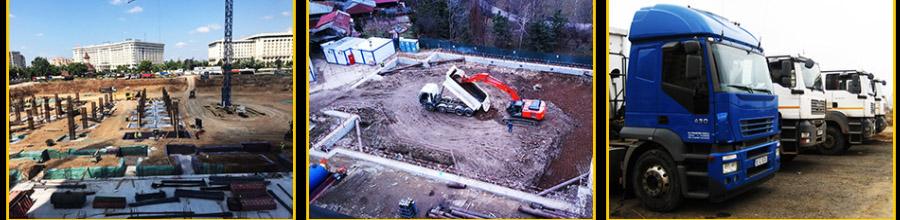 Dea Line Trans Com, Excavatii si terasamente - Bucuresti Logo