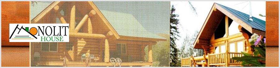 Monolit House - Case din lemn masiv, Buzau Logo