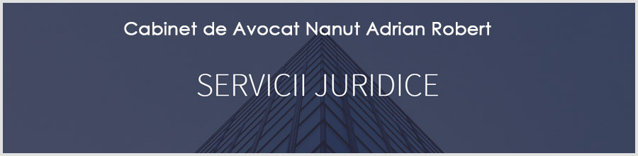 Cabinet de Avocat Nanut Adrian Robert Logo
