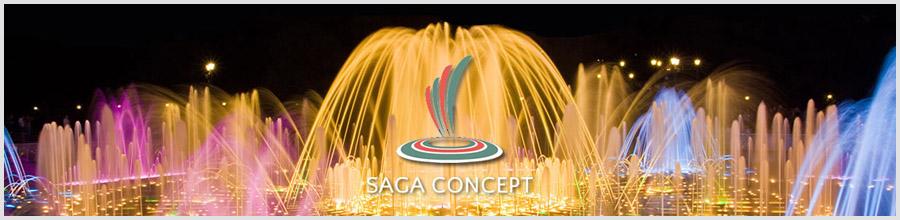 Saga Concept Logo