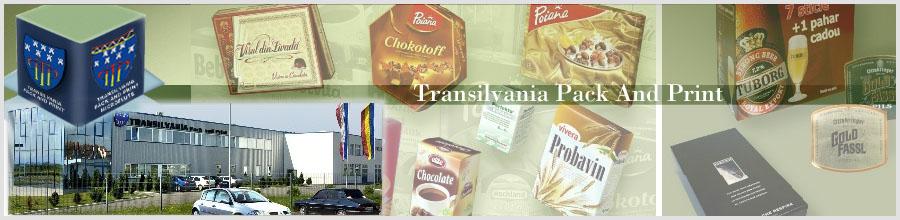 Transilvania Pack And Print Logo