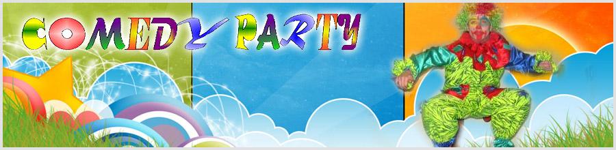 Comedy Party Logo