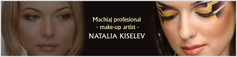 Machiaj profesional - make-up artist NATALIA KISELEV Logo