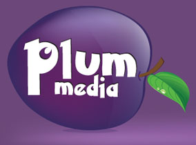 Plum Media web design Logo
