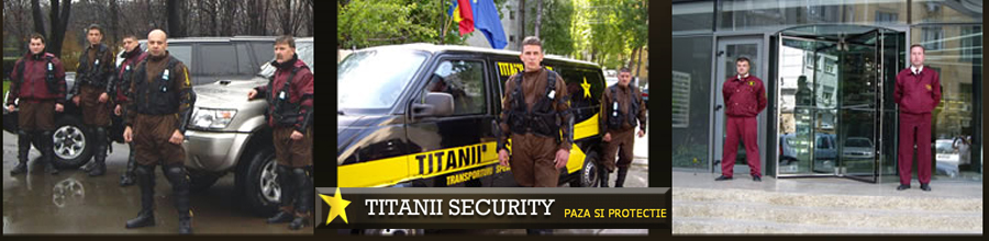 TITANII SECURITY Logo