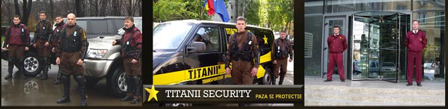 TITANII SECURITY Logo