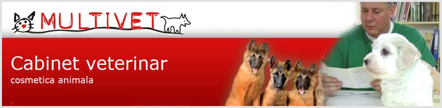 Multivet cabinet veterinar Logo