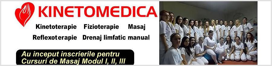 Kinetomedica, Fizioterapie Bucuresti Logo