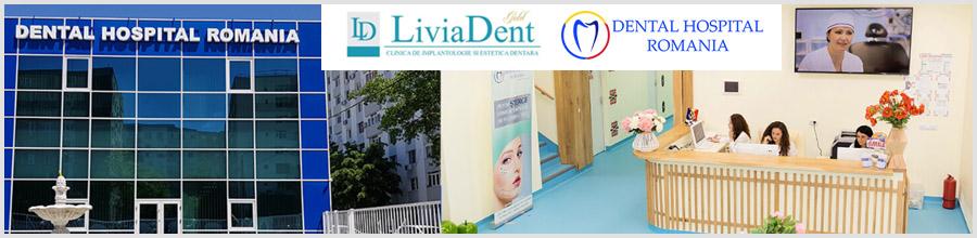 Livia Dent-dental hospital-Bucuresti Logo