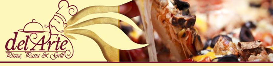 Delarte Pizza, Pasta & Grill Logo