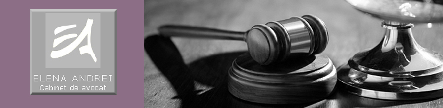 Cabinet de avocat Andrei Elena - Consultanta juridica si asistenta in diverse domenii Logo