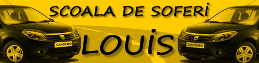 Scoala de soferi LOUIS Logo
