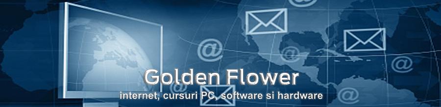 Golden Flower Logo