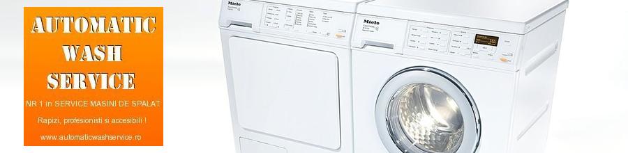 Automatic Wash Service Logo