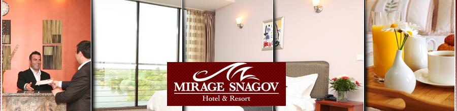 Mirage Snagov Hotel & Resort Logo