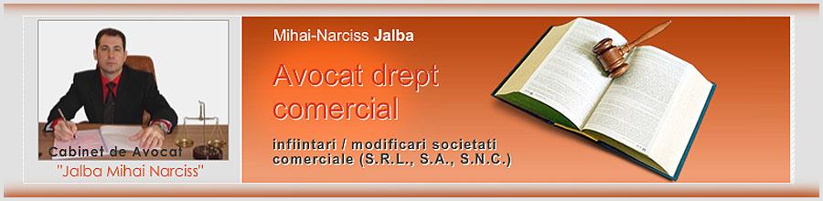 Jalba Mihai-Narciss - Cabinet de Avocat Bucuresti Logo