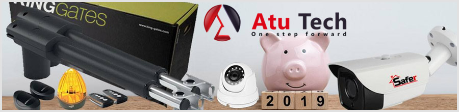 Atu Tech, Reprezentanta Bucuresti - Interfoane, sisteme de securitate Logo