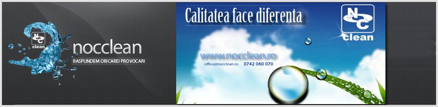 NOC Clean - Servicii profesionale curatenie Bucuresti Logo