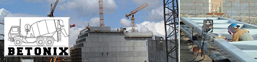 Betonix - Statii betoane ,inchiriere vibrator beton, Bucuresti Logo