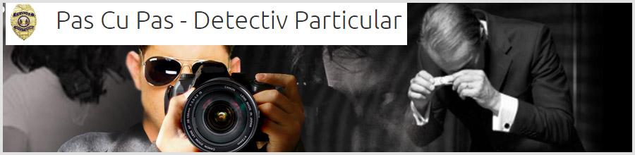Agentia Detectivi Particulari Pas cu Pas Logo