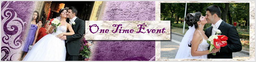One Time Event Logo