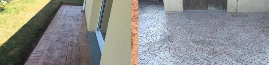 Pavtas, Grojdibodu / Olt - Lucrari din beton amprentat in toata tara Logo