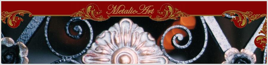 Metalic Art, Bucuresti - Porti, garduri, balustrade, scari si balcoane din fier forjat Logo
